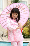 亚裔中国女孩 免版税库存照片