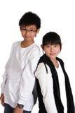 亚裔中国少年 免版税库存图片