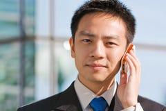亚裔企业中国人人 免版税库存照片