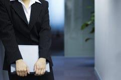 亚裔商业主管女性 免版税库存图片