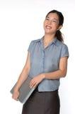 亚裔商业主管女性 免版税图库摄影