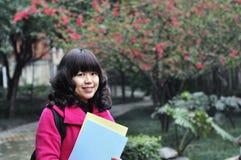 亚裔大学生 图库摄影