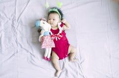 亚裔女婴13 库存图片