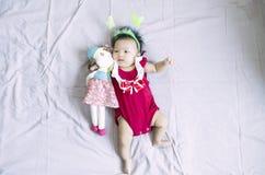 亚裔女婴16 免版税库存图片