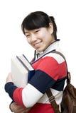 亚裔女学生 免版税图库摄影
