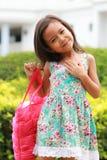 亚裔女孩一点 免版税图库摄影