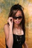 亚裔女孩 免版税图库摄影