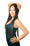亚裔女孩 图库摄影