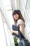 亚裔女实业家 免版税库存照片
