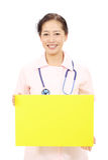 亚裔女性护士 库存图片