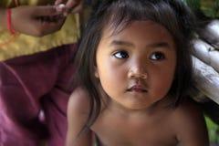 亚裔女婴 免版税库存图片
