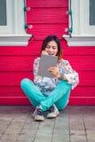 亚裔妇女照片  免版税库存照片