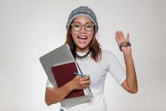 亚裔妇女的图象 免版税图库摄影
