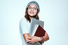 亚裔妇女的图象 免版税库存图片