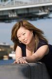 亚裔妇女 免版税图库摄影