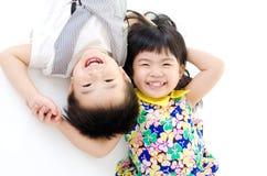 亚裔子项 免版税库存图片