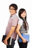 亚裔学员 免版税库存照片