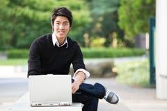 亚裔学员 库存照片