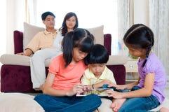 亚裔孩子 免版税库存照片