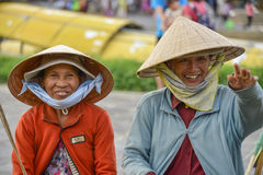 亚裔愉快的妇女 免版税库存照片