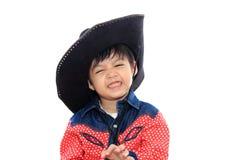 亚裔男孩一点 免版税库存图片
