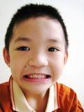 亚裔男孩 库存图片