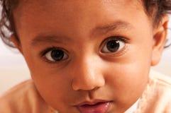 亚裔男婴 图库摄影