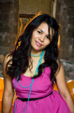 亚裔美丽的妇女 图库摄影