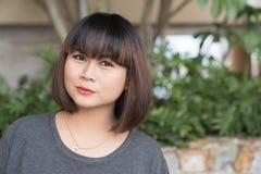 亚裔美丽的孕妇 库存图片
