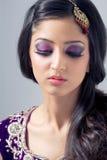 亚裔美丽的新娘 免版税库存图片