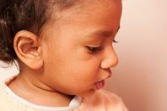 亚裔婴孩 免版税库存照片