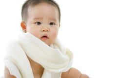 亚裔婴孩 库存图片