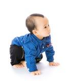 亚裔婴孩 免版税库存图片