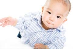 亚裔婴孩 图库摄影