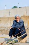 亚裔年长的人 图库摄影