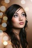 亚裔beautifaul妇女 免版税库存照片