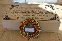 亚西尔・阿拉法特的墓碑 免版税库存照片