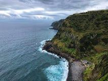 亚速尔礁石 免版税库存照片