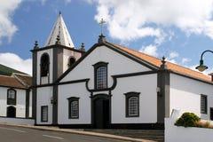 亚速尔群岛教会 图库摄影
