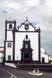 亚速尔群岛教会 库存照片