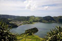 亚速尔群岛海岛葡萄牙 免版税库存照片