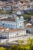 亚速尔群岛海岛葡萄牙terceira 免版税图库摄影