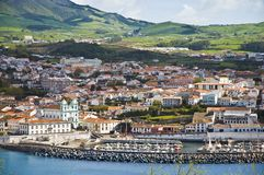 亚速尔群岛海岛葡萄牙terceira 库存图片