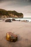 亚速尔群岛海滩 免版税库存图片