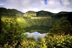 亚速尔群岛:绿色海岛 免版税库存图片