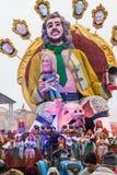 维亚雷焦的狂欢节2016年 库存照片
