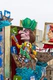 维亚雷焦的狂欢节2016年 免版税图库摄影