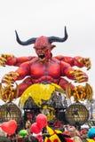 维亚雷焦的狂欢节2016年 库存图片