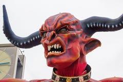 维亚雷焦的狂欢节2016年 免版税库存照片