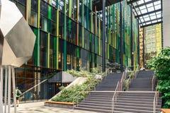 亚马逊世界总部设校园球形美国 免版税库存图片